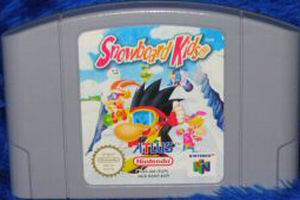 Snowboard Kids (USA) Cart Scan